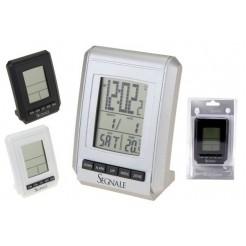 Klok wekker en weerstation LCD