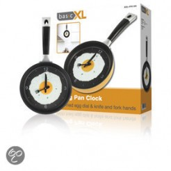 BasicXL Koekenpan Klok Oranje