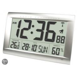 Balance He-clock-83 Zendergestuurde LCD Wandklok