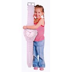 Wandklok horloge wit  90cm